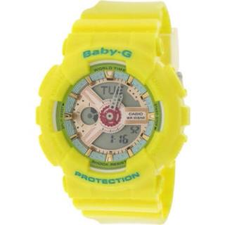 ベビージー(Baby-G)のBABY-G CASIO アナデジ 腕時計 イエロー (腕時計)