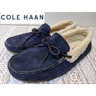 Cole Haan - 【美品】Cole Haan コールハーン モカシン ボア  ドライビングシューズ