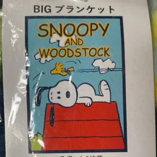 スヌーピー(SNOOPY)のスヌーピー  ☆マイヤー素材☆ブランケット☆毛布(毛布)