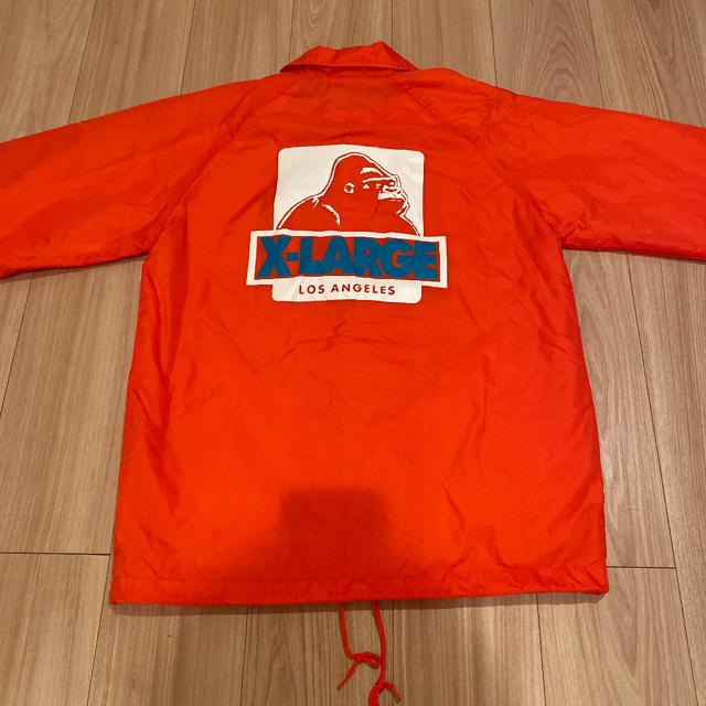 XLARGE(エクストララージ)のX-LARGE LOSANGELES プリントロゴ コーチジャケット メンズのジャケット/アウター(ナイロンジャケット)の商品写真
