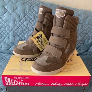 SKECHERS - ★未使用品★ スケッチャーズ インヒールスニーカー  24cm
