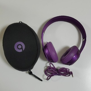 ビーツバイドクタードレ(Beats by Dr Dre)のBeats solo2 ビーツソロヘッドホン(ヘッドフォン/イヤフォン)