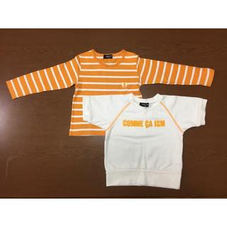 コムサイズム(COMME CA ISM)のコムサ 重ね着セット(Tシャツ/カットソー)