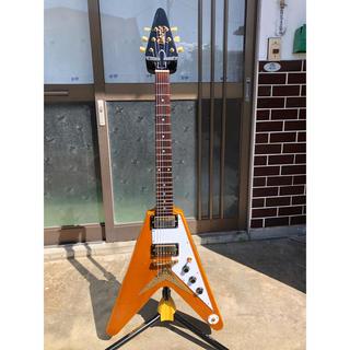Epiphone - Epiphone Flying V Korina Gibson Mod