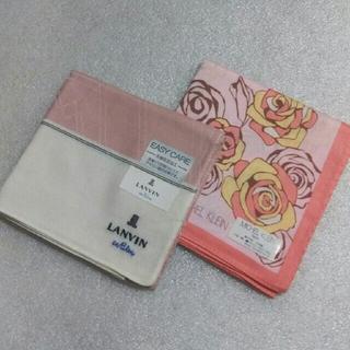 ランバンオンブルー(LANVIN en Bleu)のランバンen Bleu&ミッシェルクラン☆ハンカチ2枚セット(ハンカチ)