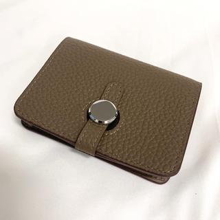 本革 トゴ 名刺入れ カードケース 軽量 大容量 ミニ財布