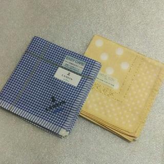 ランバンオンブルー(LANVIN en Bleu)のランバンen Bleu &ミッシェルクラン☆ハンカチ2枚セット(ハンカチ)