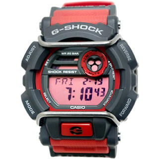 ジーショック(G-SHOCK)のCasio G-Shock 標準デジタルラグジュアリー腕時計 レッド(腕時計(デジタル))