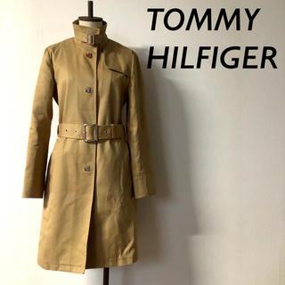 TOMMY HILFIGER - TOMMY HILFIGER ターンロック トレンチコート ベージュ