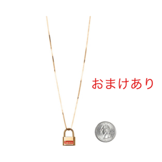 Supreme - Supreme®/Jacob & Co. 14K Gold Lock Penda