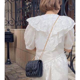 スナイデル(snidel)の♡ quilting chain bag -black- ♡(ショルダーバッグ)