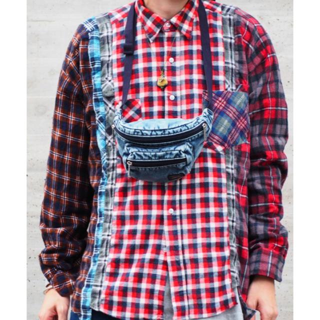 PORTER(ポーター)のPORTER B印 ヨシダ 別注 ビームス ケミカルウォッシュ メンズのバッグ(バッグパック/リュック)の商品写真