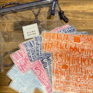 アフタヌーンティー(AfternoonTea)のアフタヌーンティー × ビームス Tシャツ型 ジップパック(ポーチ)