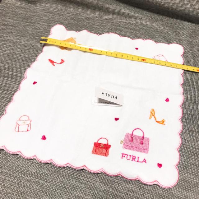 Furla(フルラ)のFURLA タオル ハンカチ 【新品未使用】 レディースのファッション小物(ハンカチ)の商品写真
