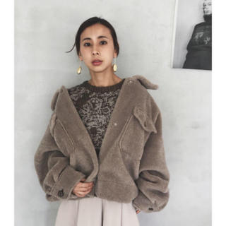 Ameri VINTAGE - AMERI VINTAGE OVER SIZ ECO MOUTON COAT