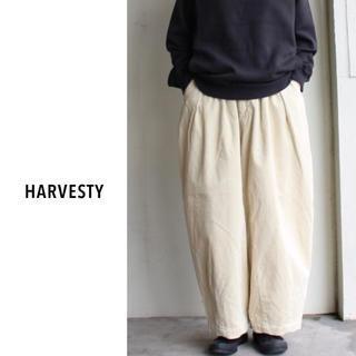 YAECA - 【新品未使用】HARVESTY(ハーベスティ)| コーデュロイサーカスパンツ