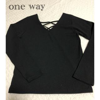 ワンウェイ(one*way)のone way ワンウェイ ロンT(Tシャツ(長袖/七分))