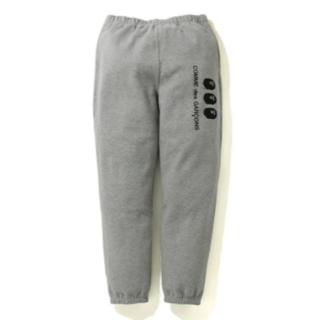 CDG OSAKA X BAPE SWEAT PANTS グレー L(その他)