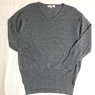 kumikyoku(組曲) - KUMIKYOKUウール100%Vネックセーター