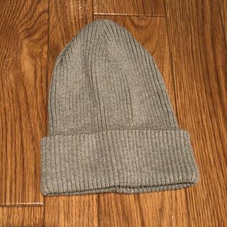トゥモローランド(TOMORROWLAND)のtomorrowlandニット帽(ニット帽/ビーニー)