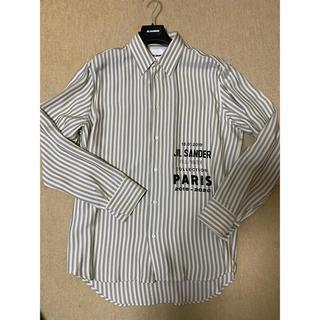 Jil Sander - jil sander 19aw ストライプシャツ サイズ39