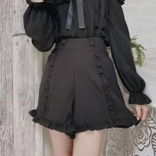 Avail - アベイル 黒 フリル ショートパンツ 量産型