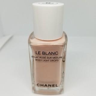 シャネル(CHANEL)の残量8割程度 シャネル ル ブラン ロージー ドロップス(フェイスカラー)
