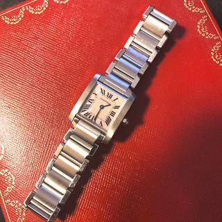 Cartier - Cartier タンクフランセーズ SM ピンクシェル