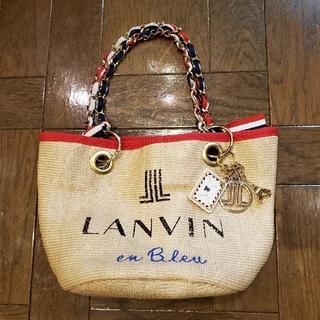 ランバンオンブルー(LANVIN en Bleu)のLANVIN ミニバッグ(ハンドバッグ)