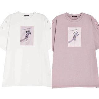 イートミー(EATME)のタイムセール0時まで☆EATME イートミー 2点 新作レースアップ  Tシャツ(カットソー(長袖/七分))