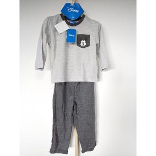 Disney - 新品 未使用 100センチ ディズニー 長袖長ズボンパジャマ 定価2068円
