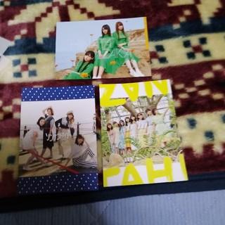 日向坂46 CD予約特典非売品ポストカード 3枚セット