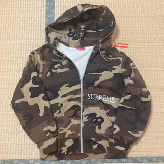Supreme - supreme thermal zip up hooded sweatshirt
