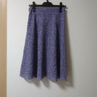 PROPORTION BODY DRESSING - プロポーションボディドレッシング チェック レース フレア スカート