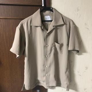 ハレ(HARE)のUNITED TOKYO 半袖 シャツ ベージュ(Tシャツ/カットソー(半袖/袖なし))