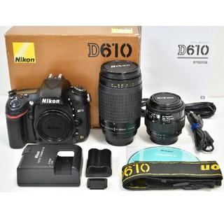 Nikon - Nikon D610 標準&望遠レンズセット