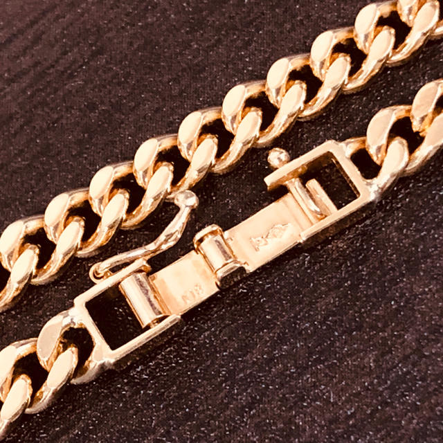 18金 喜平 ネックレス 2面 50.2g 60cm K18キヘイ メンズのアクセサリー(ネックレス)の商品写真