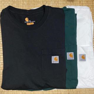carhartt - カーハート tシャツ Mサイズ 3枚セット 黒 白 緑