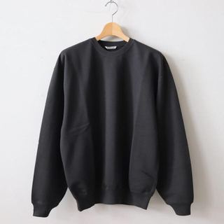 COMOLI - AURALEE SUPER SOFT SWEAT BIG P/O
