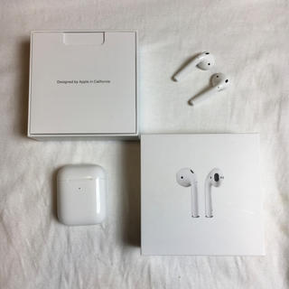 Apple - airpods with wirelesscharging case 第2世代