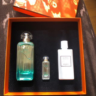 Hermes - エルメス香水ナイルの庭100ml 7.5ml  乳液40ml