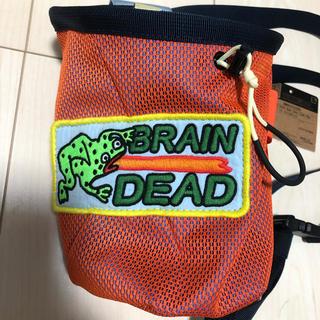 THE NORTH FACE - brain dead TNF base camp chalk bag オレンジ