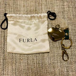 フルラ(Furla)の【新品未使用】FURLA フルラ ハート型キーチェーン バッグチャーム(バッグチャーム)