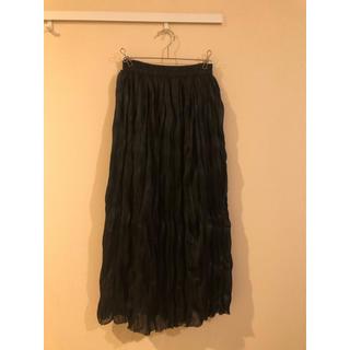 GRL - シャイニーランダムプリーツスカート