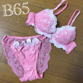 B65ブラジャー&ショーツセット(ブラ&ショーツセット)