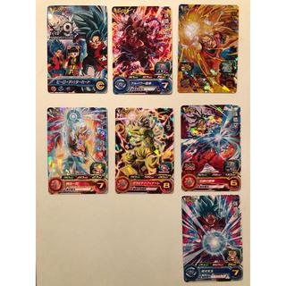 ドラゴンボール(ドラゴンボール)のスーパードラゴンボールヒーローズ 7枚セット(カード)