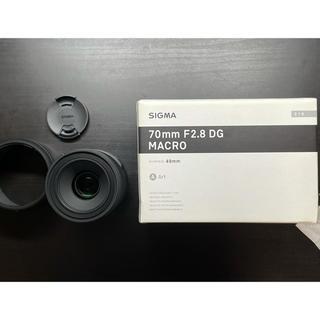 SIGMA - SIGMA シグマ 70mm f2.8 DG MACRO SONY Eマウント用
