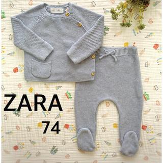 ZARA KIDS - 【ZARA Baby】ニットセーター・足つきレギンス70