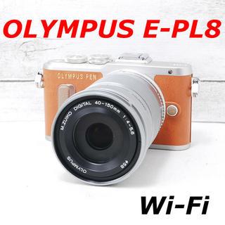 OLYMPUS - ❤️人気ブラウンカラー❤️Wi-Fi搭載❤️OLYMPUS E-PL8
