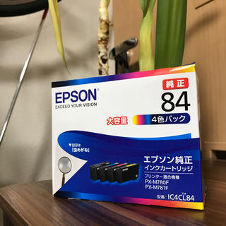 EPSON - 【未使用品】エプソン インクカートリッジ 4色パック IC4CL84